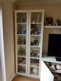 IKEA Glass doors display cabinet bookshelf