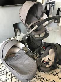 Complete Stokke Crusi Travel System