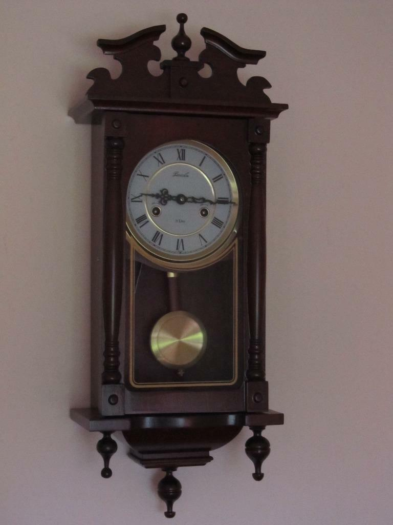 Lincoln 31 Day Pendulum Wall Clock Excellent Condition