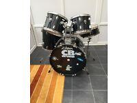 5 Piece CB Drums.