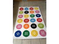 Children's bedroom/playroom rug