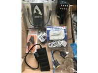JOB LOT OF HDMI ADAPTER/CABLES, USB C TO HDMI,MINI DISPLAY,OPTICAL,SCART CABLES