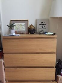 Bookcases / Shelves and matching Chest of drawers for sale