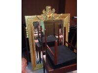 Gorgous golden mirror