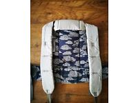 Beco Gemini Baby Carrier - Nimbus (Navy & Grey Clouds) - Boxed With Instructions