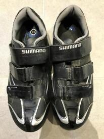 Shimano SPD R078 Cycling Shoes inc Cleats - Size 8 / 43