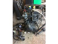 125cc 4 stroke engine liquid cooled good runner