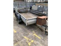 12 x 6 heavy duty trailer with tool box