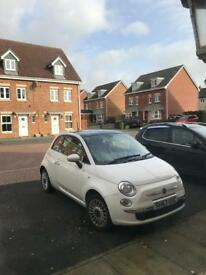Fiat 500 1.2 Lounge (Top spec) 63 REG