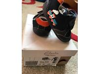 Clarks 2F first shoe