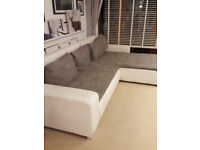 Corner sofa bed free to go