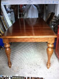 Beautiful Solid Hardwood Dining Table.