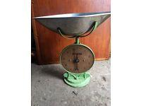 Vintage Salter No 50 weighing scales