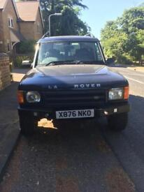 Land Rover Discovery 2 Blue