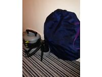 Spray tan machine & tent