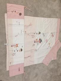 Mamas & Papas Scrapbook Girl Nursery Interiors/Bedding Bundle