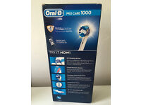 Oral -B Pro Care 1000 electric toothbrush that has never been opened for sale!