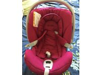 Cybex Aton car seat with accessories