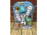 Frozen fever mix and match Olaf toy NEW