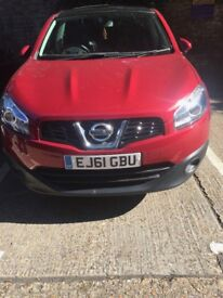 Nissan qashqi+2 guarantee mileage 33358 MOT end December 2018