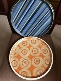 Large Denby Plates