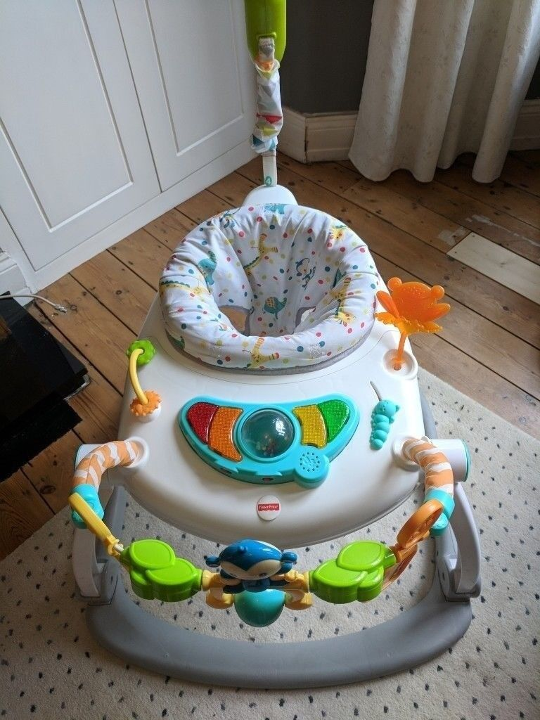 0048c7392ab1 Jumperoo (Fisher Price) - Colourful Carnival SpaceSaver