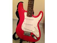 Fender Squier mini guitar set