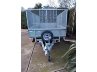 IFOR Williams LM105 trailer with mesh sides