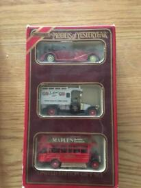 Limited edition gift set. Matchbox models of yesteryear diecast cars