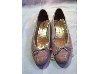 French Sole Ballet Flats Size 41