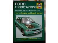 Haynes manual Escort/Oroin