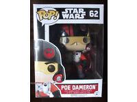 Star Wars Poe Dameron Pop Vinyl # 62