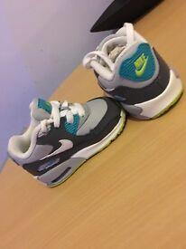 Nike air max 90s U.K. Size 2.5