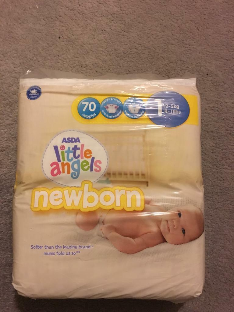 124 size 1 nappies