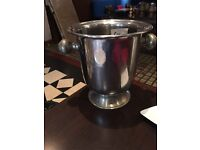 Nice large ice bucket and wine cooler