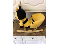 Busy Bee Childrens Rocker with sound