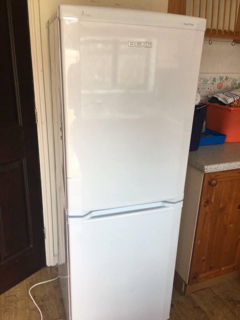 Beko white frost free fridge freezer | in Durham, County Durham | Gumtree