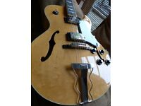 Westone Session II guitar, high quality Japanese Gibson 175 copy from early 1980s.
