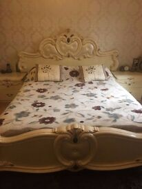 [4SALE] Bed & matching cupboards £400