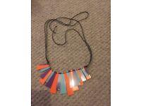 Bright coloured necklace