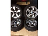 Winter tyres and wheels for BMW 3 Series