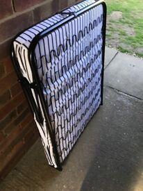 Folding guest single beds