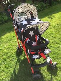 Cosatto tandem style double pushchair ***£99***