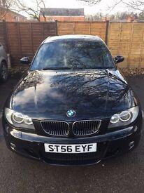 BMW 130i, 73k miles, Automatic, Black