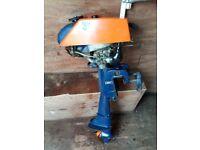 4-5 HP 2 stroke outboard motor