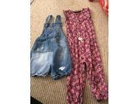 2-3 next dungarees and jumpsuit