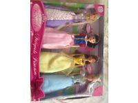 Fairytale princess dolls set