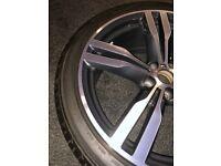BWM M Alloy Wheels Double-Spoke Style 648 M