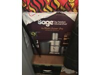 Almost brand new Sage the Nutri Juicer Pro for sale