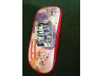 One direction hair dryer with case and eye mask